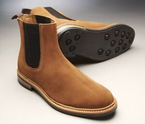 1f0e60aecf74 Image is loading Samuel-Windsor-Mens-Chelsea-Boots-Prestige-Brown-Tan-