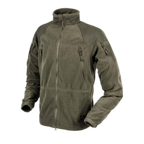 HELIKON TEX Stratus Heavy Fleece Jacket outdoor veste Armée Vert Olive Large