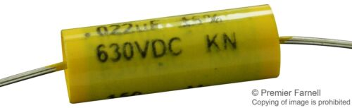 5PK CORNELL DUBILIER-150223J630DB-CAPACITOR POLYESTER FILM 0.022UF,630V,5/%,AXIAL