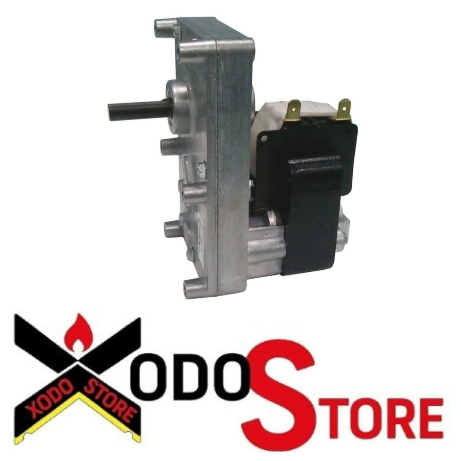 Réducteur de mouvement poêle pellet FB1218 Paquet 32 mm Arbre 9,5 mm 3 rpm