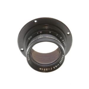 Vintage-Carl-Zeiss-Jena-25cm-250mm-f-4-5-Tessar-Large-Format-Lens-BG
