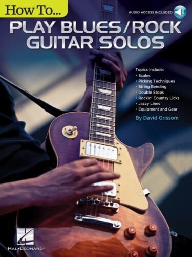 Audio Access Included Guitar Edu 000249561 How to Play Blues Rock Guitar Solos