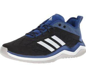 Adidas-Originals-CG5138-Men-039-s-Speed-Trainer-4-Shoes-Black-Blue-Shoes-17M