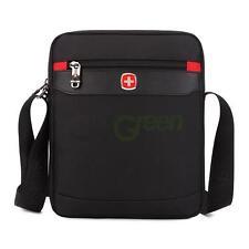 SwissGear Men Briefcase Classic Laptop Shoulder Backpack Messenger Bag Black