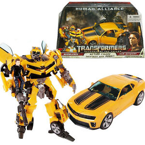 TRANSFORMERS-BUMBLEBEE-HUMAN-ALLIANCE-SAM-WITWICKY-ROBOT-CAR-ACTION-FIGURES-TOY