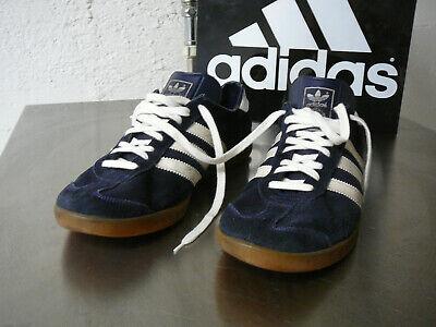 Ingegnoso Adidas Vintage Amburgo Uk 10,5 Made In Yugoslavia-mostra Il Titolo Originale
