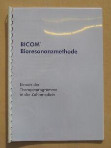 Bicom Script Thérapies Dans La Médecine Dentaire-regumed Bioresonanz Dental-afficher Le Titre D'origine ModèLes à La Mode