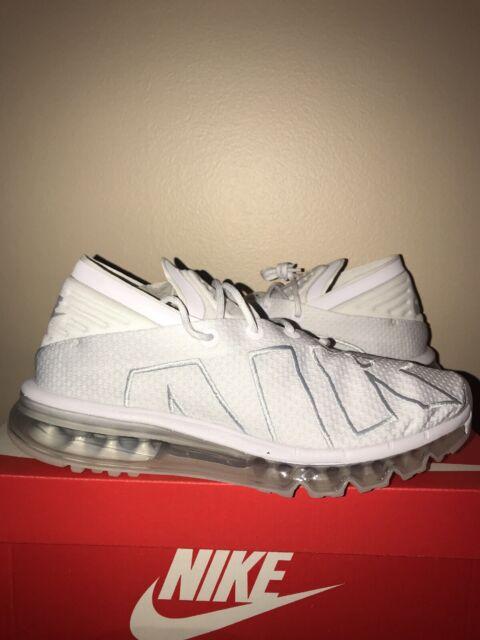 89f4f13d02 Nike Air Max Flair Mens Running Shoes 8.5 White Pure Platinum 942236 100