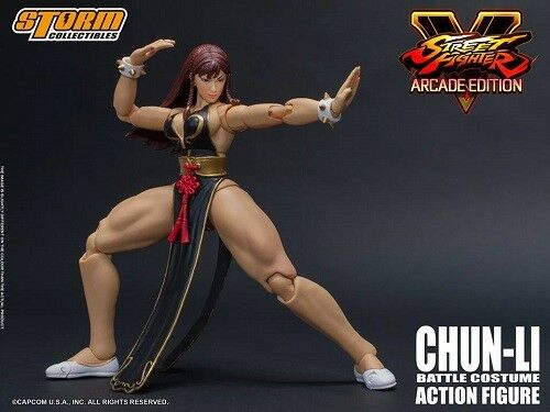 NYCC 2018 1/12 Street Fighter V Chun-Li Arcade Storm Collectibles