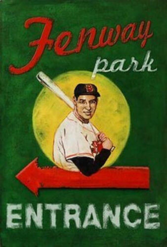 ROBERT DOWNS BOSTON RED SOX 36408 FENWAY PARK ENTRANCE POSTER 24x36