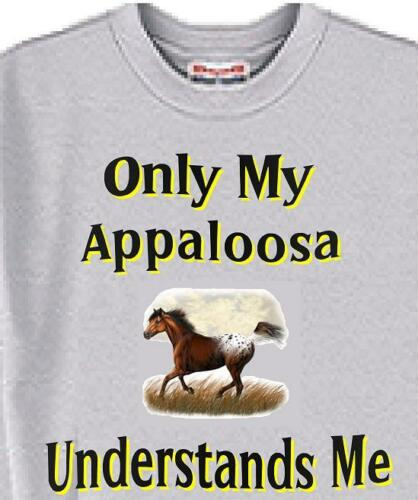 Horse T-Shirt Only My Appaloosa Understands Me Child T Shirt Available -