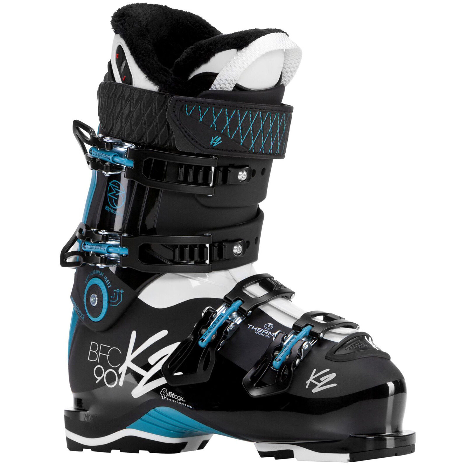 K2 Bfc Walk W 90 Heat Heatable DaSie -skischuhe (103 mm) Ski Stiefel Ski Stiefel