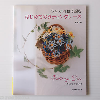 One Shuttle's Tatting Lace - Japanese Tatting Patterns Book Diagrams USED