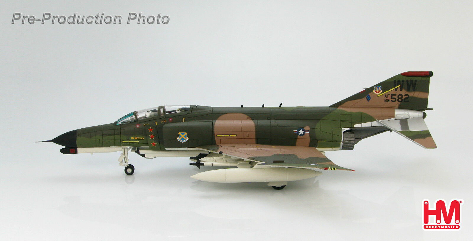 Hobby Master 1 72 HA1981 McDonnell Douglas F4 Wild Weasel 69-7582 37 TFW, USAF