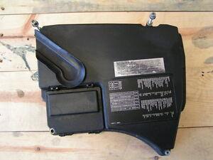 bmw e38 750il 750ilp engine compartment fusebox fuse box cover lid rh ebay com bmw 750li fuse box diagram 2009 bmw 750li fuse box location