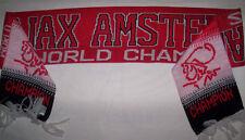 ECHARPE AJAX AMSTERDAM WORLD CHAMPION