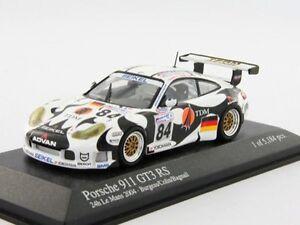 Porsche 911 Gt3 Rs 24h Le Mans 2004 400046984 1/43 Minichamps