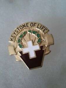 Authentic-US-Army-316th-Station-Hospital-Unit-DI-DUI-Crest-Insignia-22M