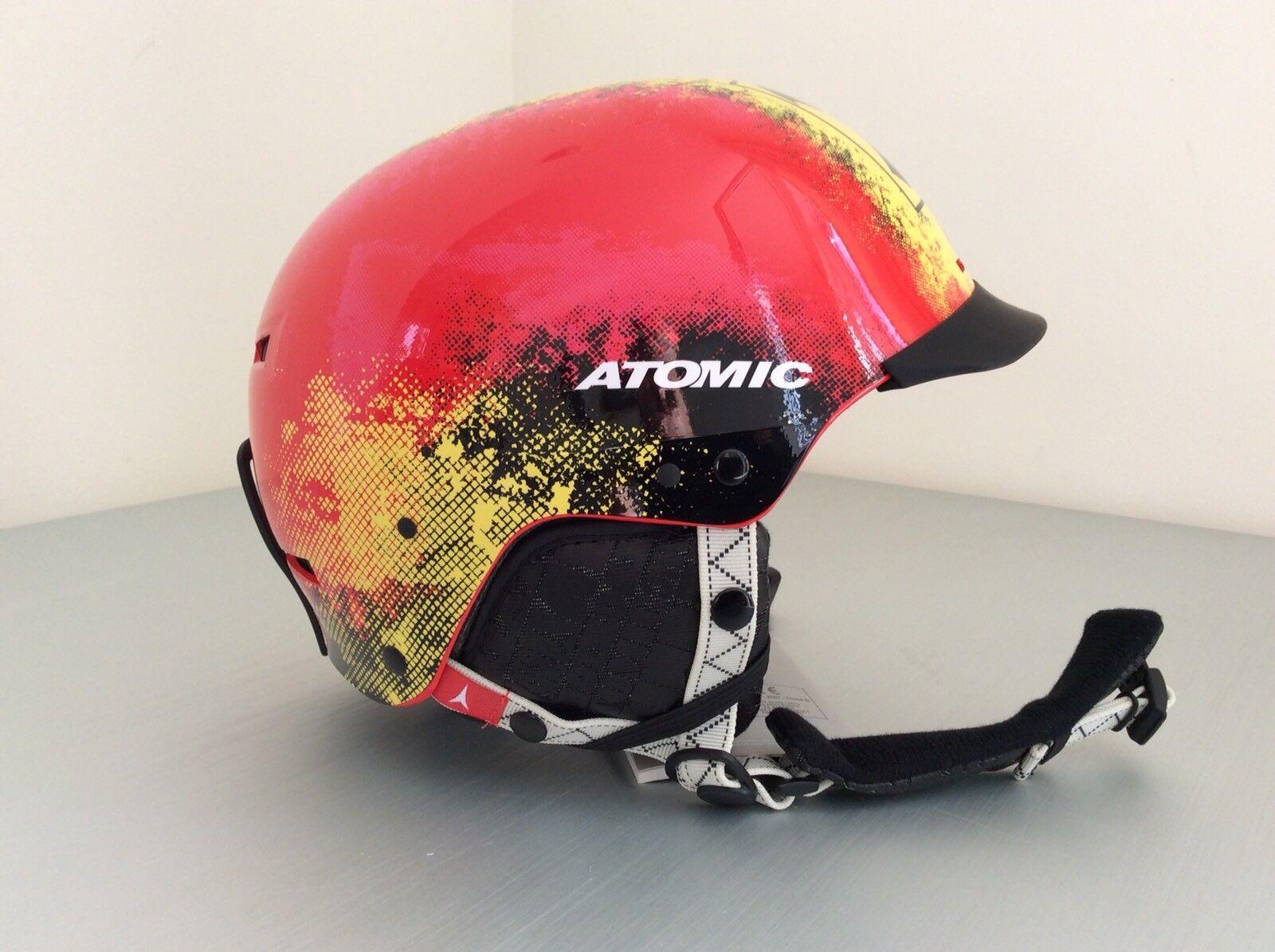 Skihelm Atomic Allmountainhelm Helm rot Gr. S