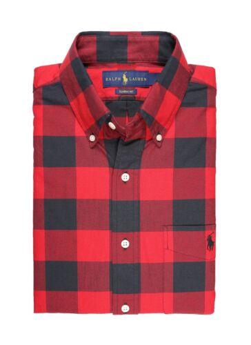 NWT Polo Ralph Lauren Men Long Sleeve Button Down Oxford//Sport Shirt MSRP $89.50