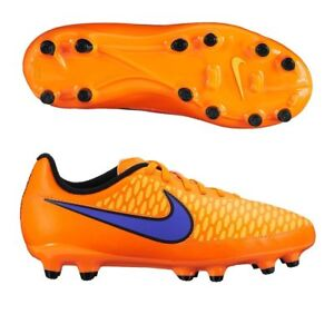 4f2ca810d YOUTH NIKE SOCCER CLEATS JR MAGISTA ONDA FG 651653 858 ORANGE Size ...