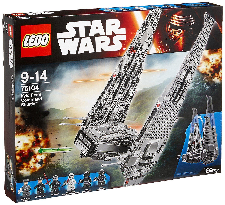 LEGO 75104 Star Wars Kylo Ren's Command Shuttle - BRAND NEW SET