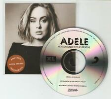 ADELE 'WATER UNDER THE BRIDGE' RARE BRAZILIAN  3 TRACK CD PROMO