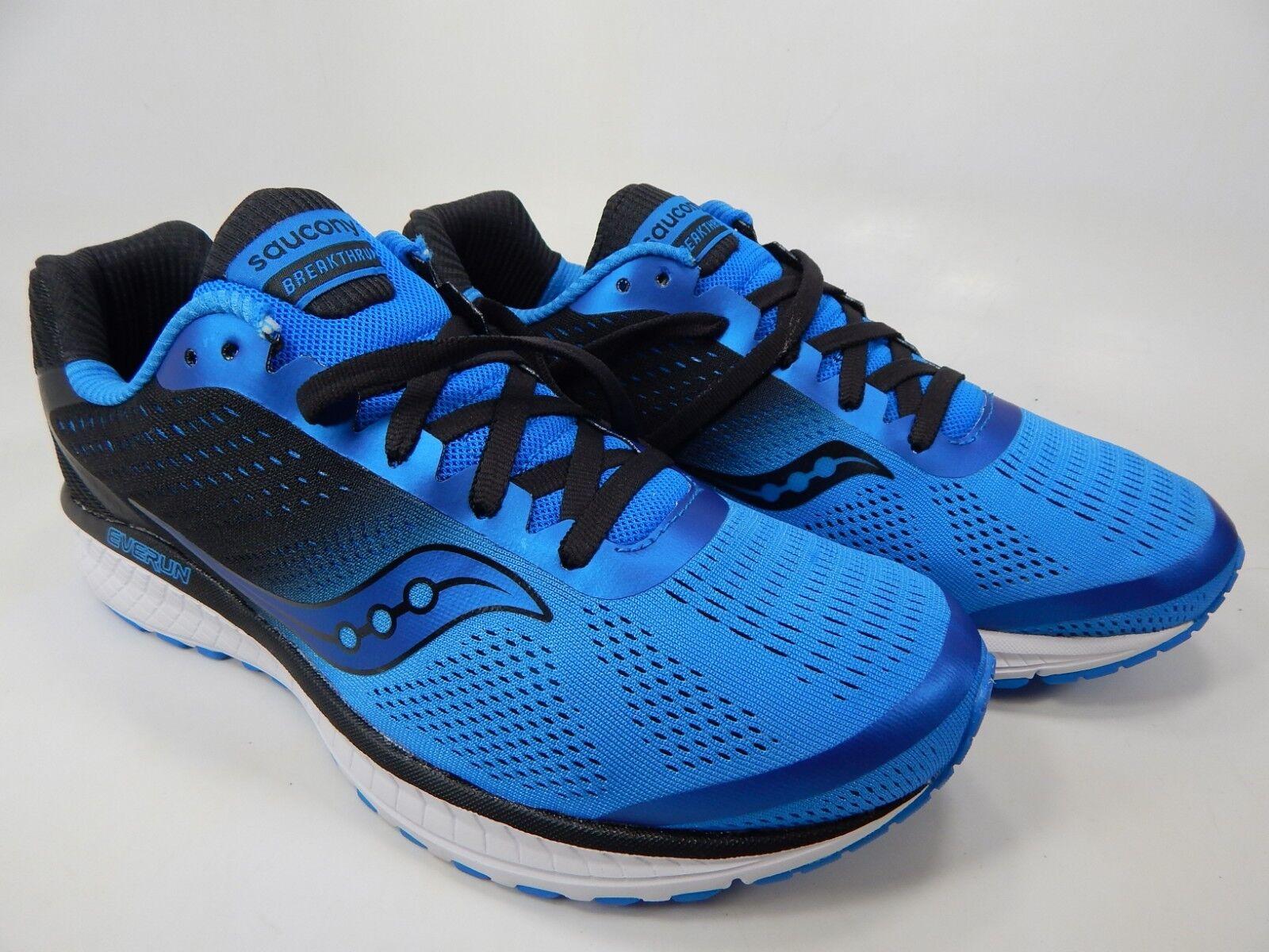 Saucony Breakthru 4 Tamaños 9M (D) Ue 42,5 Hombre Zapatillas para Correr Azul