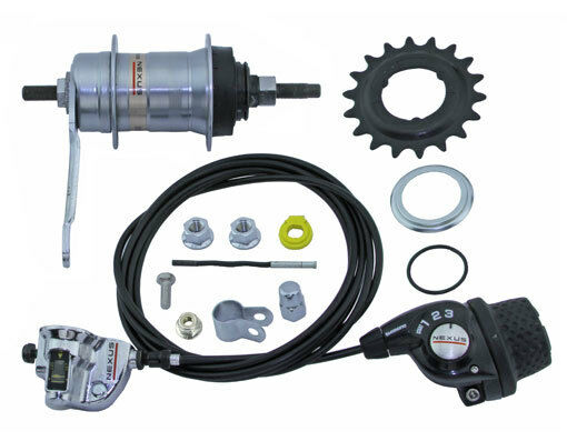 Internal gear hub Nexus Inter 3 coasterbrake 3 speed 20T SHIMANO bike speed
