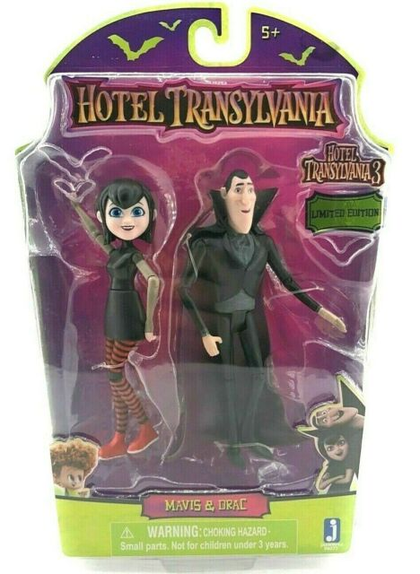Hotel Transylvania 3 Drac/'s Pack Sony Limited Edition Dennis Drac Mavis Johnny
