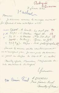 Raymond-QUENEAU-Lettre-autographe-signee-bordereau-signe-2-documents