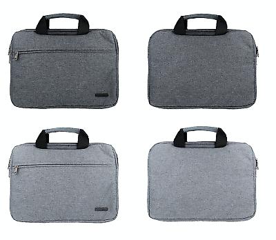 """Diszipliniert Laptop Notebook Tasche 13,3"""" 14,1"""" 15.5"""" Zoll Notebooktasche Dunkel Hell Grau In Vielen Stilen Notebooktaschen Büro & Schreibwaren"""