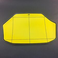 KTM 125/250/300 1990-1992 EXC  Pre-Cut Background Sticker Decal Yellow