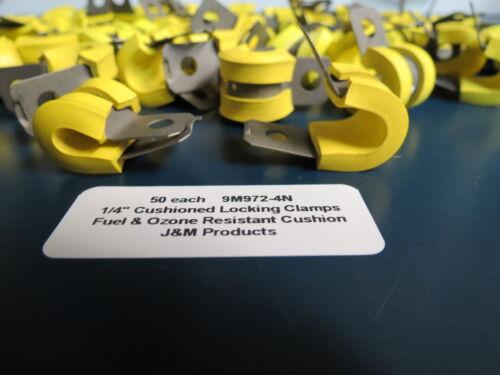 "50 1//4"" Fuel Resistant UMPCO Adel J/&M Cushion Loop Clamps Aircraft Race"