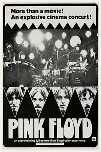 Details about Pink Floyd POSTER Live In Pompeii **LARGE** 1972 Roger Waters  David Gilmour