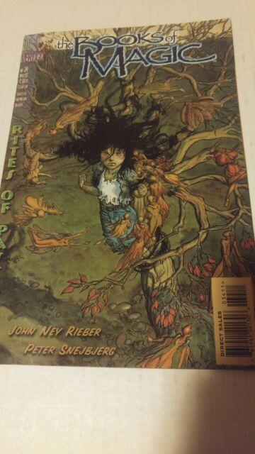 The Books of Magic #34 March 1997 DC Comics Rieber Gross Snejbjerg