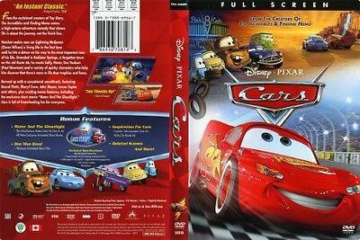 Walt Disney Pixar S Cars Dvd Full Screen Lightning Mcqueen Mater