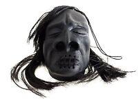 Loftus Mini Shrunken Head Halloween Decoration 3 Prop Black