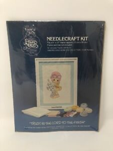 Precious-Moments-1984-Collectors-Club-Needlecraft-Kit-03010X-Trust-Lord-Finish