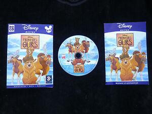 JEU-PC-CD-ROM-Disney-Action-FRERE-DES-OURS-enfants-envoi-suivi