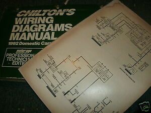 1992 MERCURY CAPRI OVERSIZED WIRING DIAGRAMS SCHEMATICS MANUAL SHEETS SET |  eBayeBay