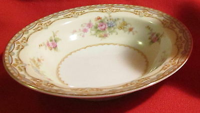 Noritake China ~ Sherwood # 4903 ~ Rimmed Sauce//Berry//Dessert Bowl ~ Japan