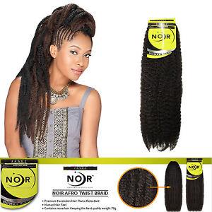 Image Is Loading Janet Noir Afro Twist Braid Marley Braiding Hair