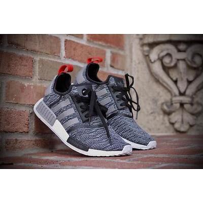 036315b41 Adidas NMD R1 Glitch Camo Core Black Solid Grey Deadstock Men Size 5-14 (