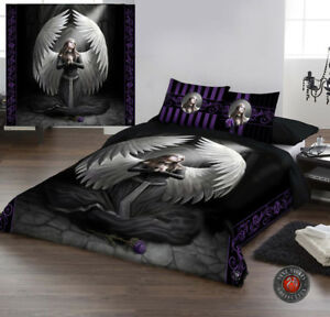 Guardian Angel Duvet Cover Set For Double Bed Artwork By Anne
