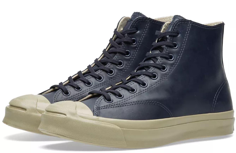 Converse JACK PURCELL SIGNATURE HI HI HI RUBBER Stiefel Schuhe Größe 8.5 120 153582C 77db0d
