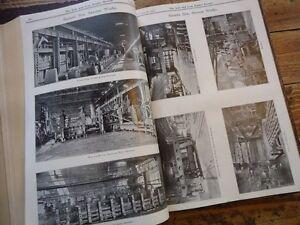 DéVoué The Iron & Coal Trade Review 2vol 1923 Siderurgie Mines Mineurs Usine Industrie ModèLes à La Mode