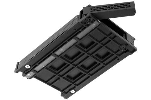 "New ICY Dock ExpressCage MB324SP-B 4 bay 2.5/"" SAS SATA HDD Hot Swap Mobile Rack"