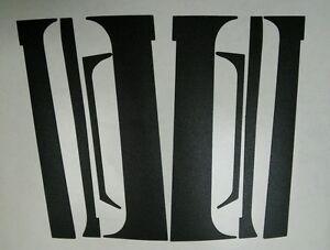 Exterior Vinyl Graphics For Vauxhall Opel Astra GTE / 16V (Door Pillars)