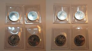 4 Piece 10DM Olympiad 1972 Spiral München Individually Welded, Proof